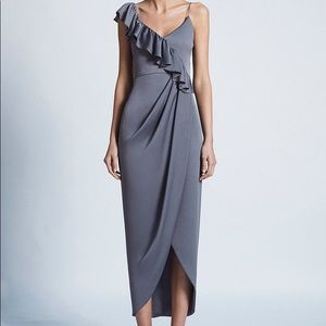 Shona Joy Grey Dress, Bridesmaid dress